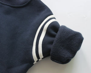 Navy Fleece Tracksuit