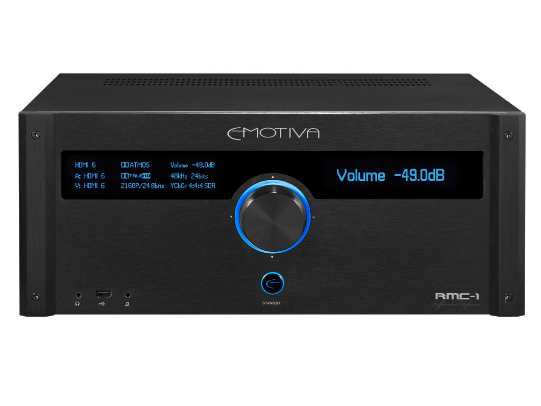 Emotiva RMC-1 16 Channel Dolby Atmos & DTS:X Cinema Processor