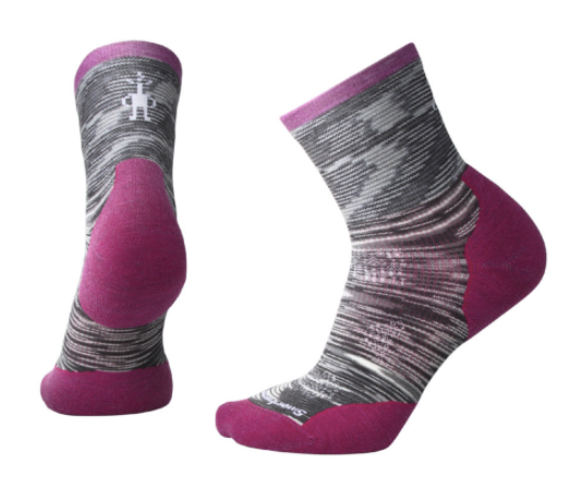 Smartwool Women's PHD Run Cold-Weather Mid Crew Sock