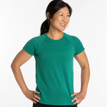 Load image into Gallery viewer, W Oiselle Flyout Short Sleeve
