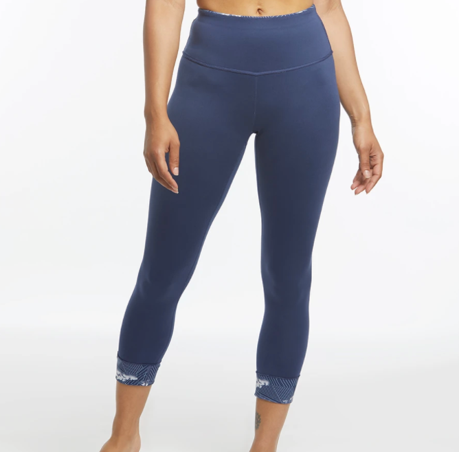 W Oiselle Bird Hug Reversible Tights