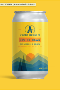 Athletic Brewing Co.- Upside Dawn Golden Ale (Non-Alcoholic)