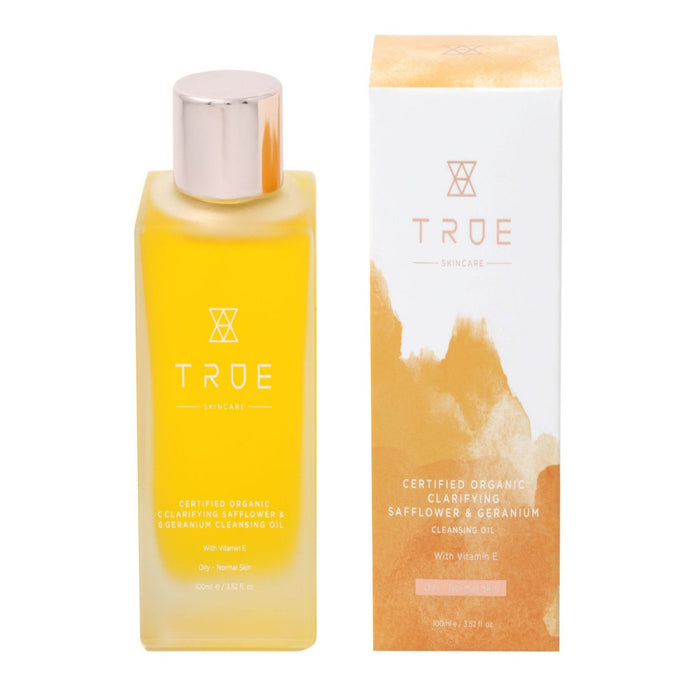 true skincare cleansing oil for normal to oily skin types
