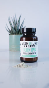 skin & tonic mask with detox for oily /combination skin