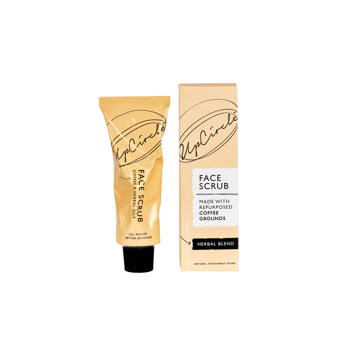 Upcircle coffee face scrub for oily /combo skin