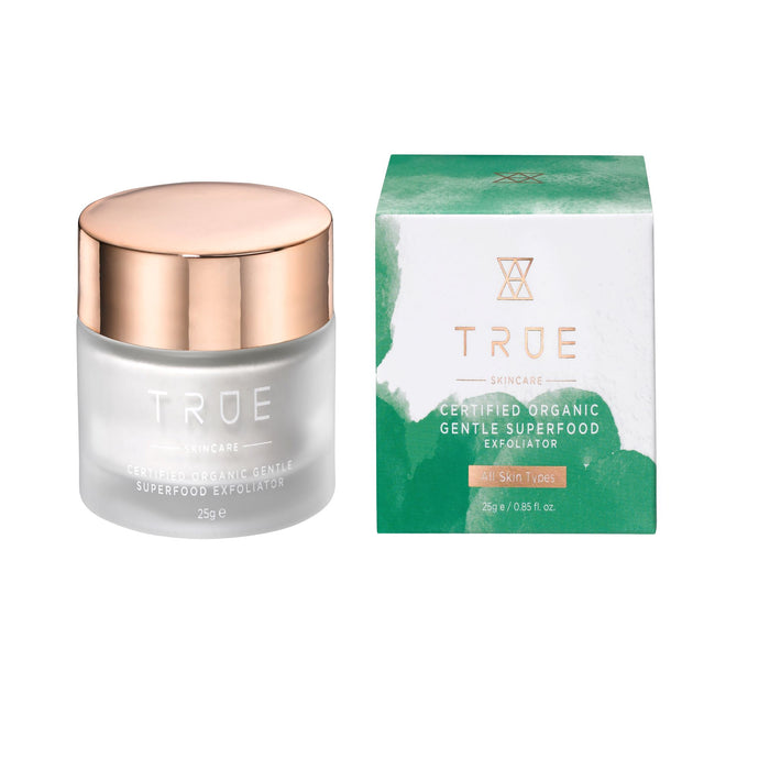 TRUE Skincare - Certified Organic Gentle Superfood Exfoliator - 25g