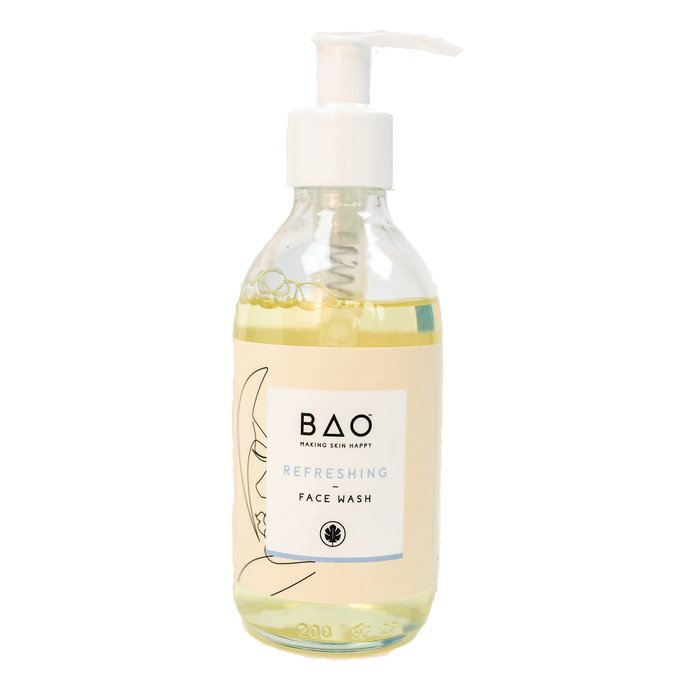 bao skincare face wash