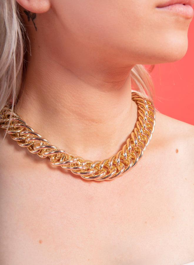 chunky chain gold - ketting
