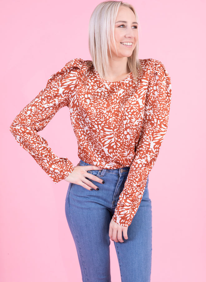 wild child red - blouse