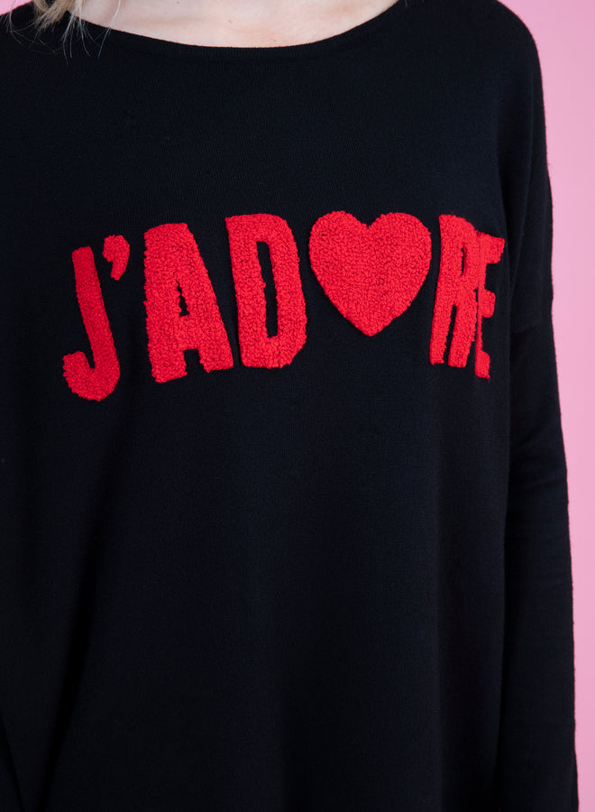 j'adore black/red - comfy set