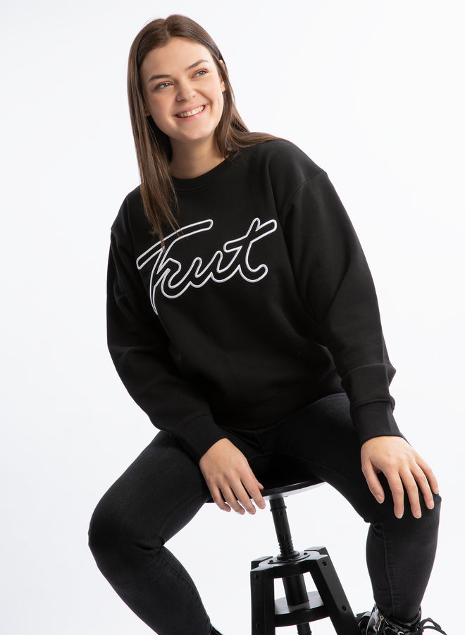 you rock Trut! black/white 3D - sweater