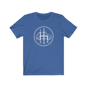4 Speed Shifter Classic Mini Tshirt - Round