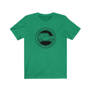 Drive a Classic Car, Lifes Too Short - Classic Mini Tshirt