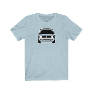 Clubman Classic Mini front end Tshirt