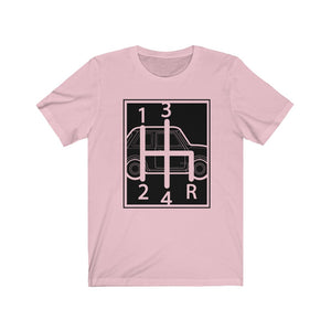 4 speed Shifter Classic Mini Tshirt - rectangle