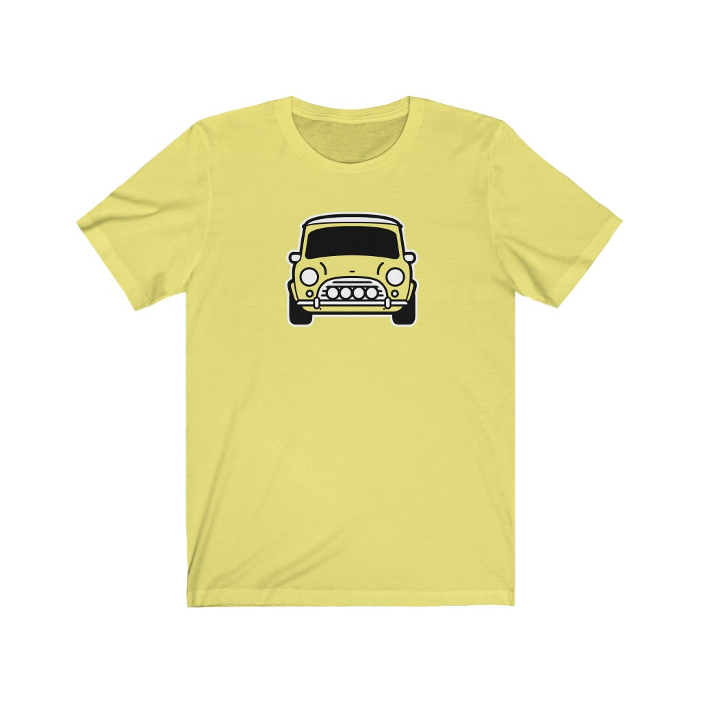 Classic Mini mk1-2 with four fogs front end Tshirt