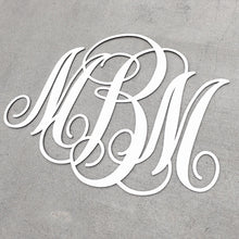 Load image into Gallery viewer, Personalized Monogram Sign