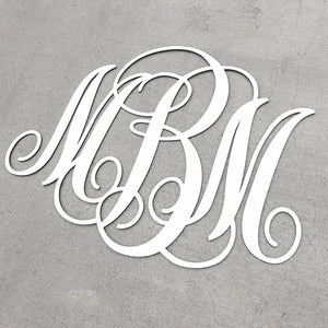 Personalized Monogram Sign