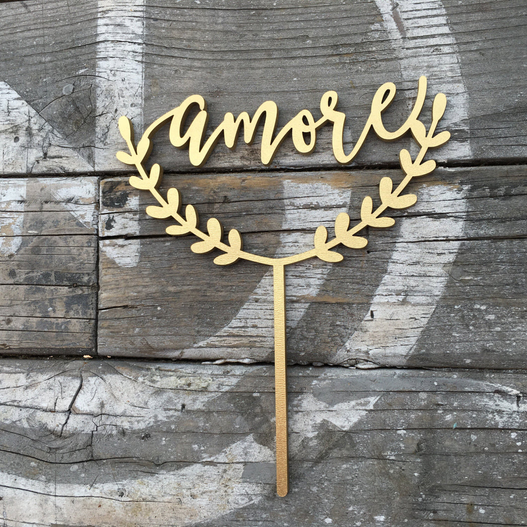 Amore Cake Topper, 6