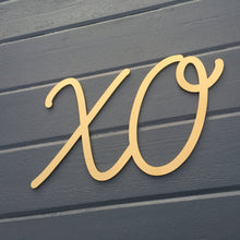 "Load image into Gallery viewer, XO Sign, 15""x9"""
