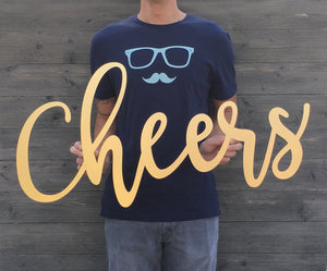 Cheers Sign (Version 1)