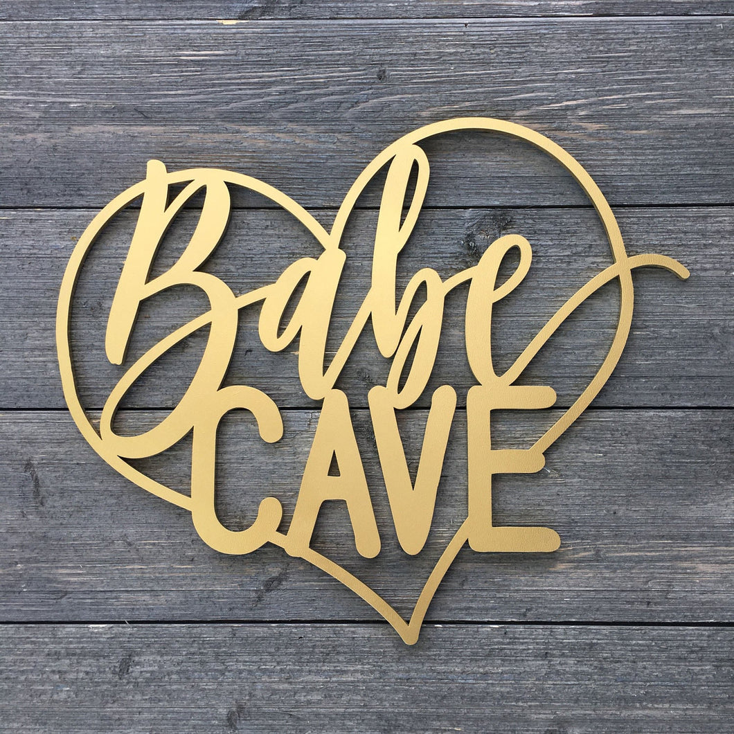 Babe Cave Heart Sign, 14
