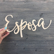 Load image into Gallery viewer, Espose & Esposa Chair Signs