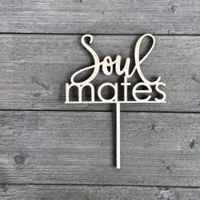 "Load image into Gallery viewer, Soulmates Cake Topper, 6""W"