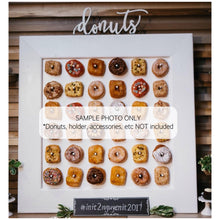 Load image into Gallery viewer, Donuts Sign