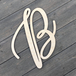 "Initials Sign, 12""H (Version 2)"