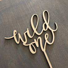 "Load image into Gallery viewer, Wild One Cake Topper, 6""W"