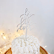 "Load image into Gallery viewer, For Like Ever Cake Topper, 5""W"