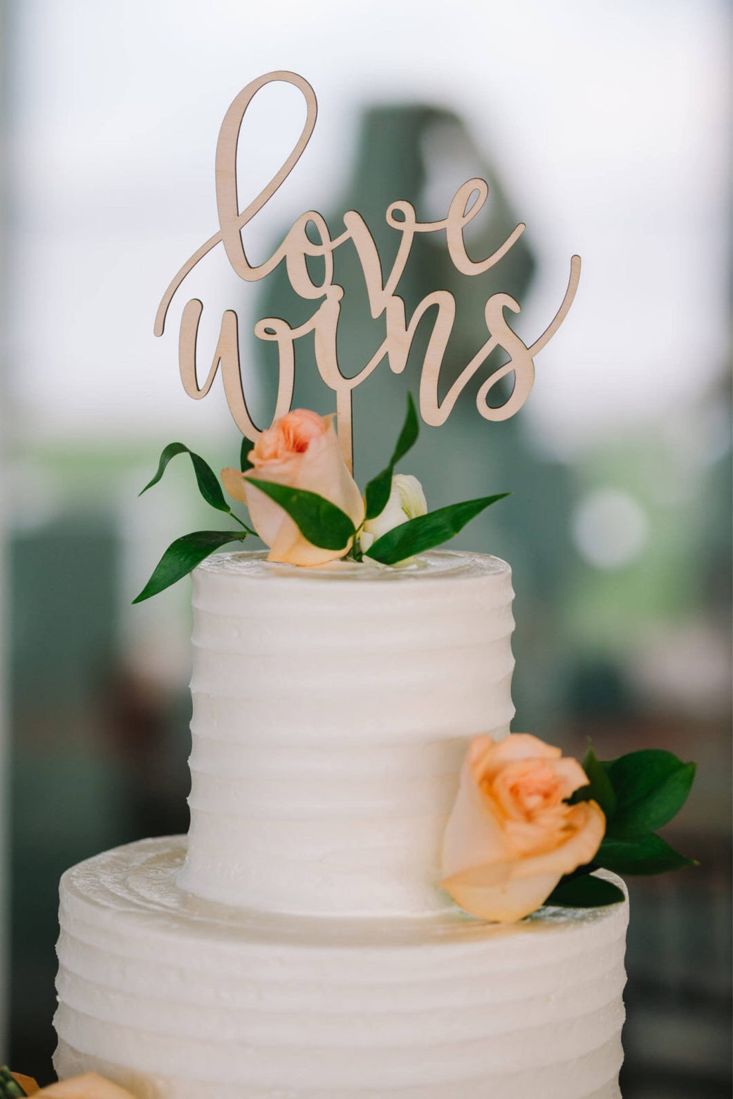Love Wins Cake Topper, 6
