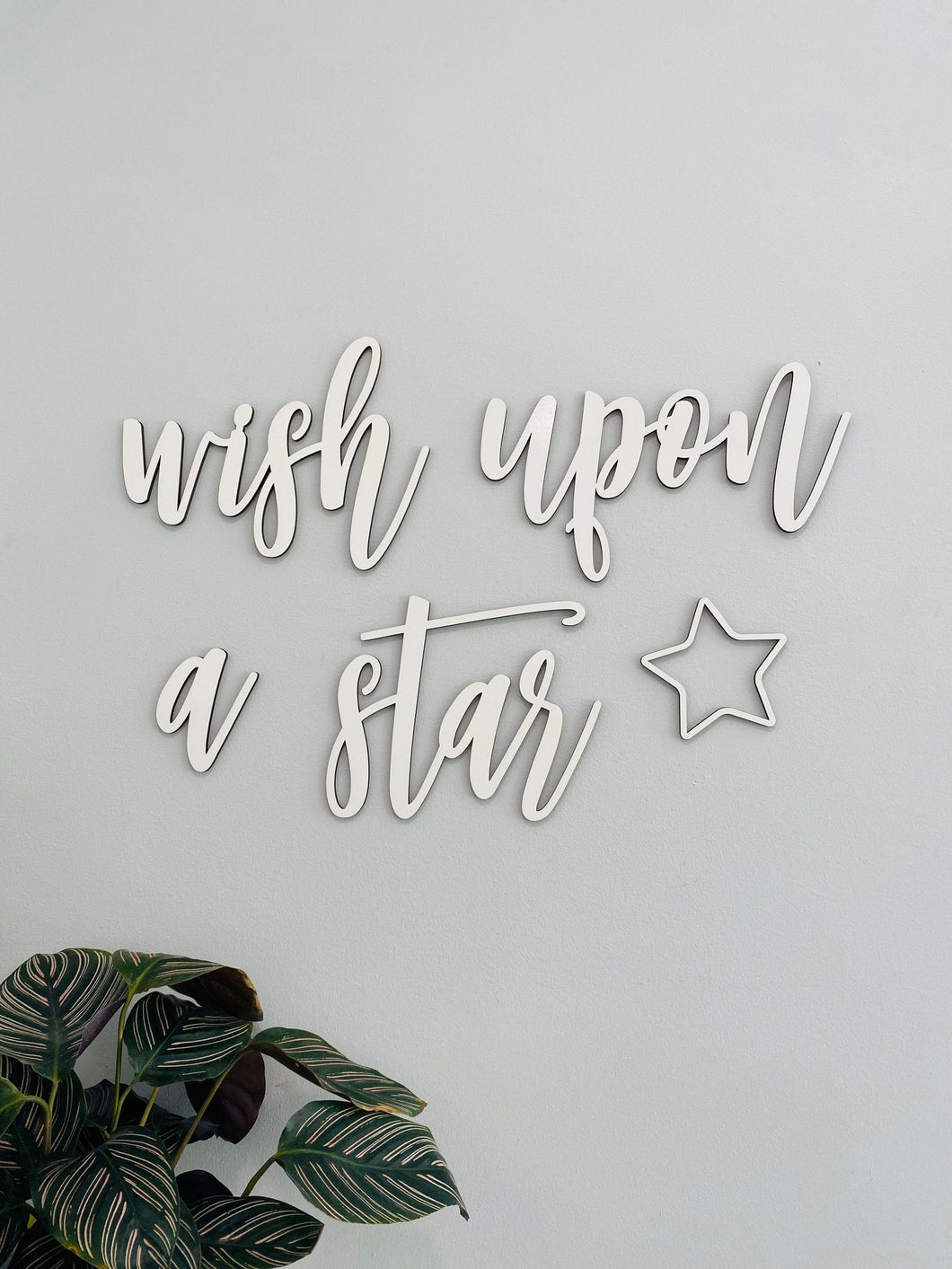 Wish Upon A Star Sign