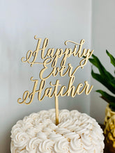 "Load image into Gallery viewer, Happily Ever Name Cake Topper, 6""W (Personalized)"