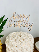Load image into Gallery viewer, Happy Birthday Cake Topper (Version 2)