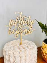 Load image into Gallery viewer, To Infinity & Beyond Cake Topper