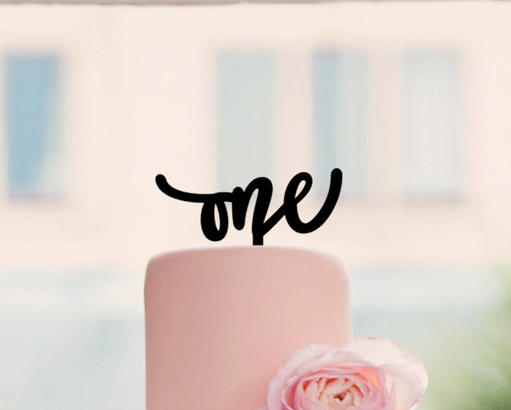 One Cake Topper, 6