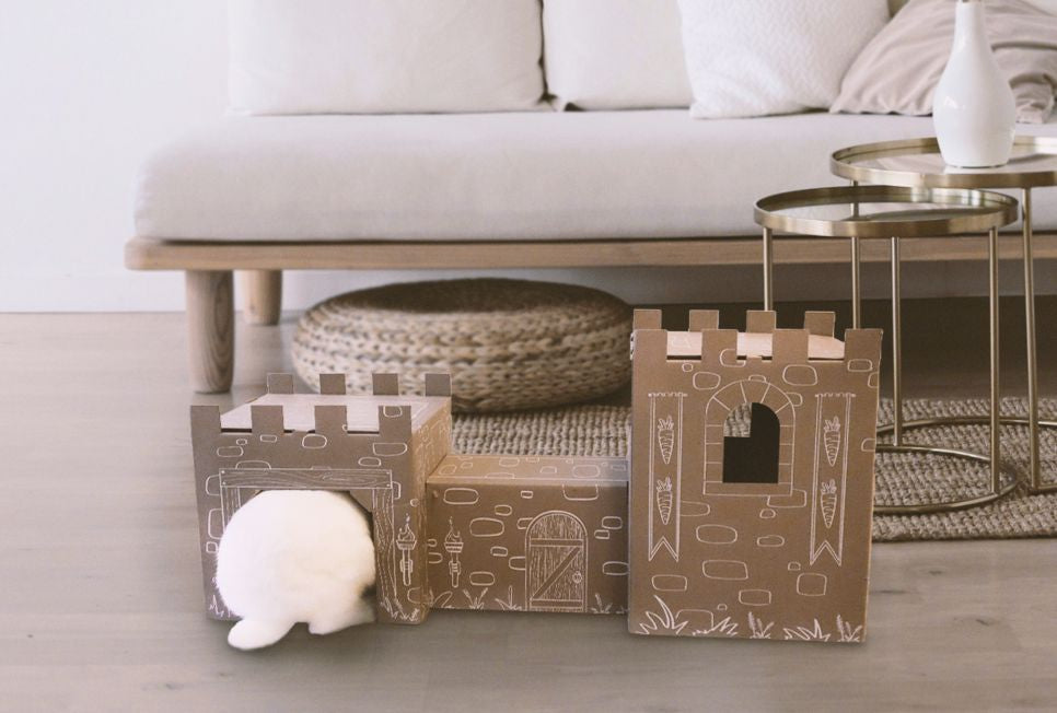 Bunny Castle - the best toy for your royal rabbit