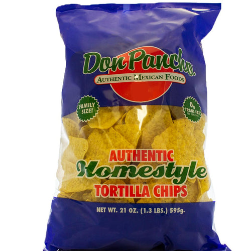 Don Pancho Homestyle Tortilla Chips Family Size