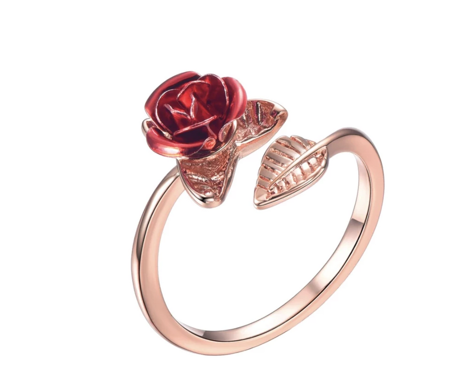 Rosy Love Ring