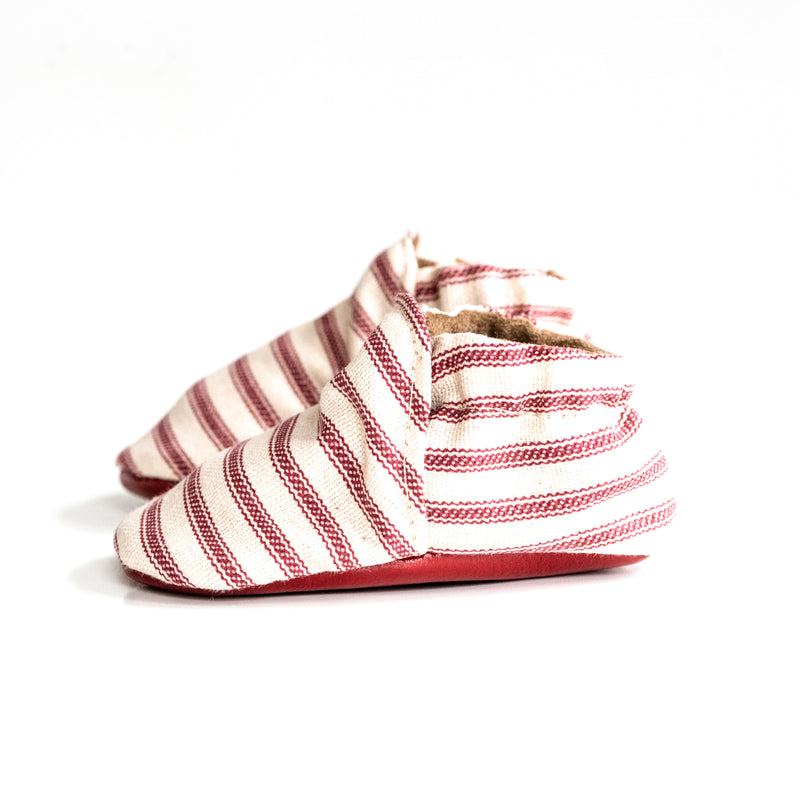 Red Nautical Stripes
