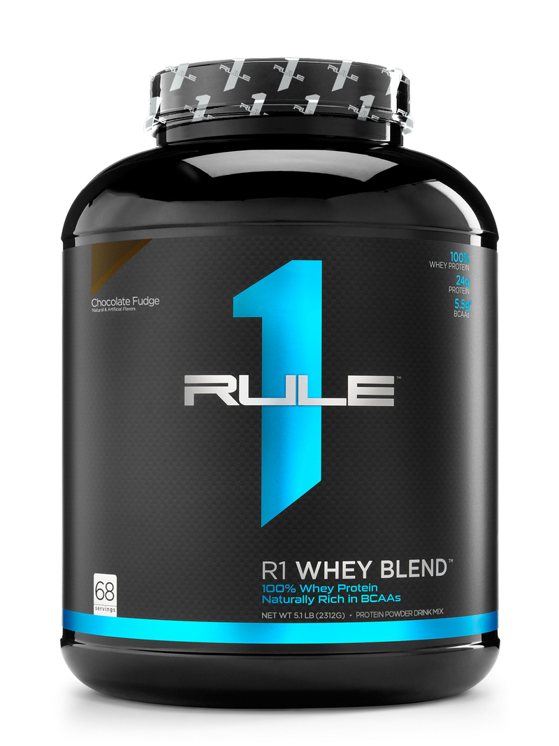 R1 Whey Blend By  Rule 1 68 Serves - Adelaide Supplements