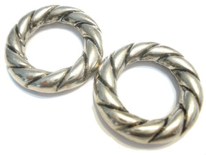 Scarf Rings 50pcs Scarf Accessory DIY Silver Fancy Scarf Rings Pendant Jewelry