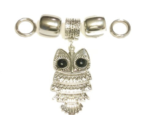 Alloy Owl endant Jewelry Sold A Set Valentine's Day Gift Delivery 3 To 5 Days