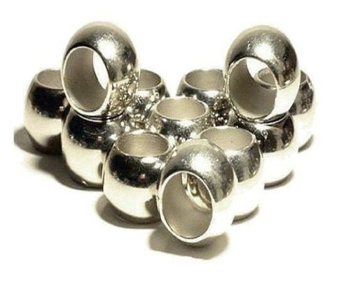 Scarf Rings 12PC Silver Plated Scarf Charms Slides Receive In 4 Days