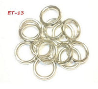Wholesale Scarf Jewelry Accessory 6 Design Scarf Rings Slides Sold Per 50Pcs (ET-13 50pcs)