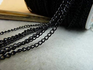 Chain Necklace Extender Silver Plated Chains-32 Feet