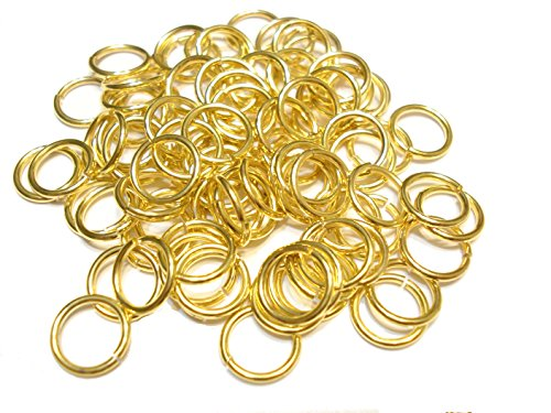 Jump Rings 3mm, 4mm,5mm,6mm,7mm,8mm,10mm,12mm Open Connectors Jewelry Findings