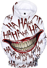 Load image into Gallery viewer, COREBEAD Haha Joker Hoodie Men's 3D Print Sweatshirt Hoodies